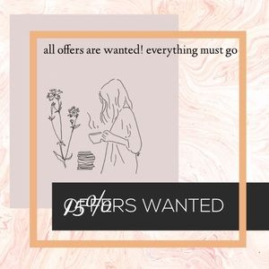 Other - ALL OFFERS WANTED